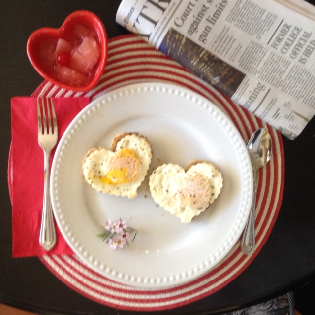 Breakfast for my Valentine