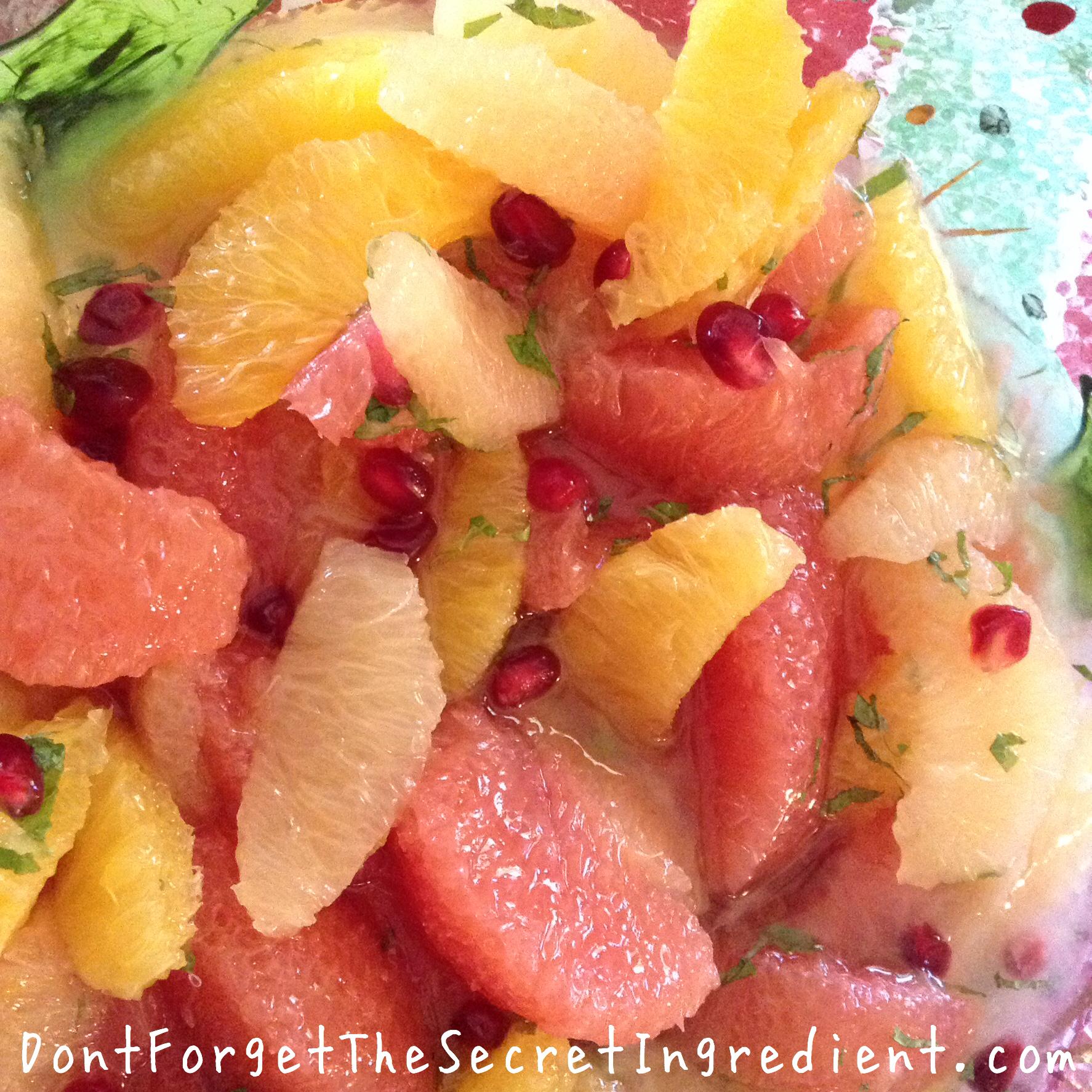 Holiday Brunch Citrus Salad