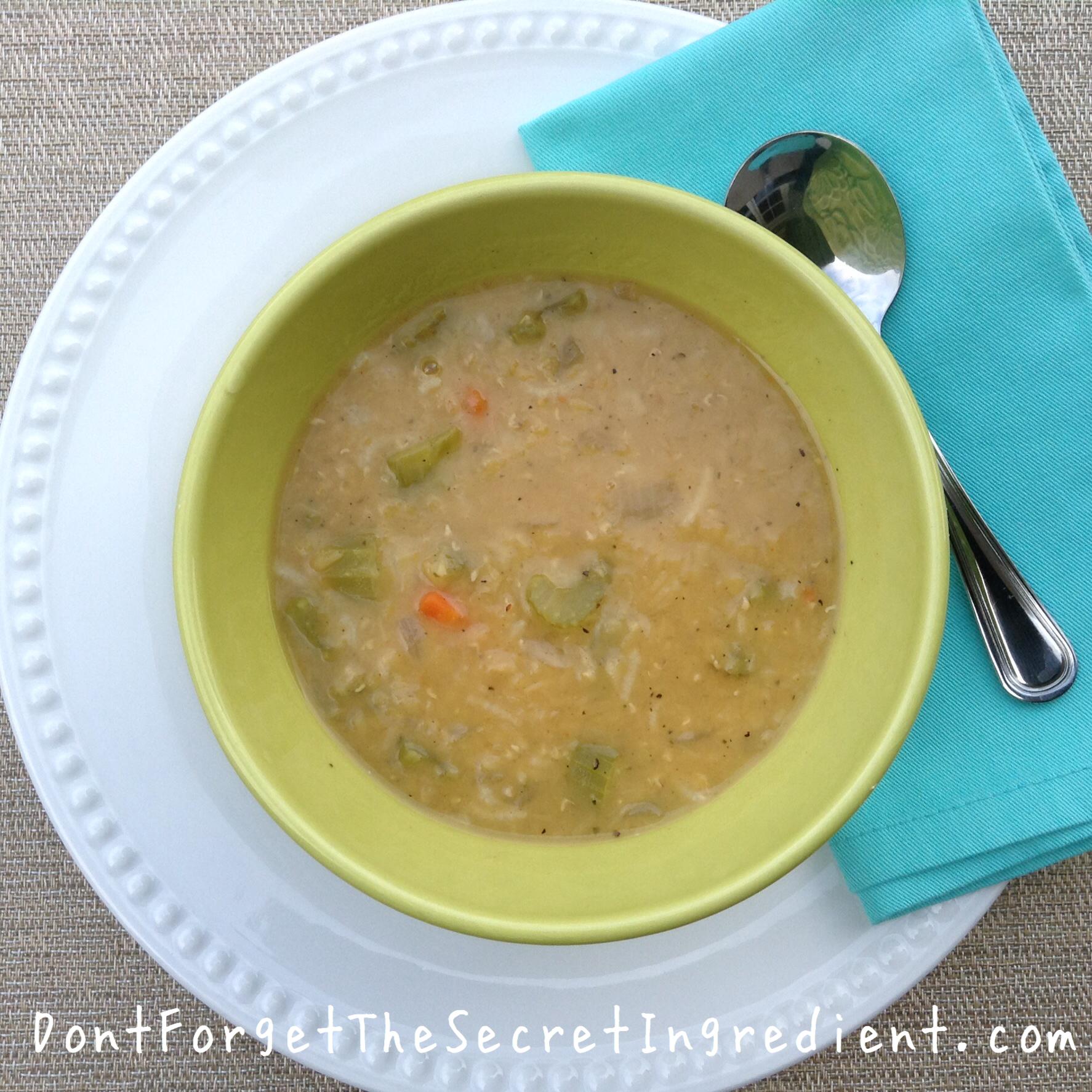 Zov's Golden Lentil Soup