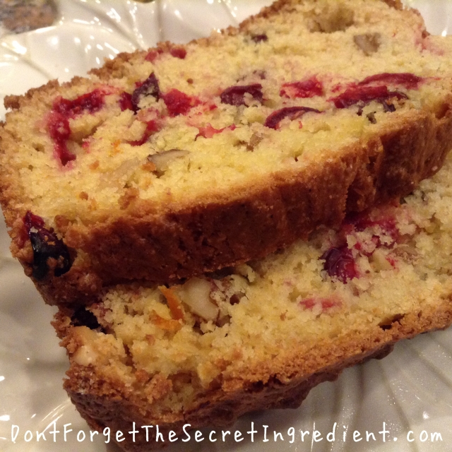 Mom's Cranberry Bread