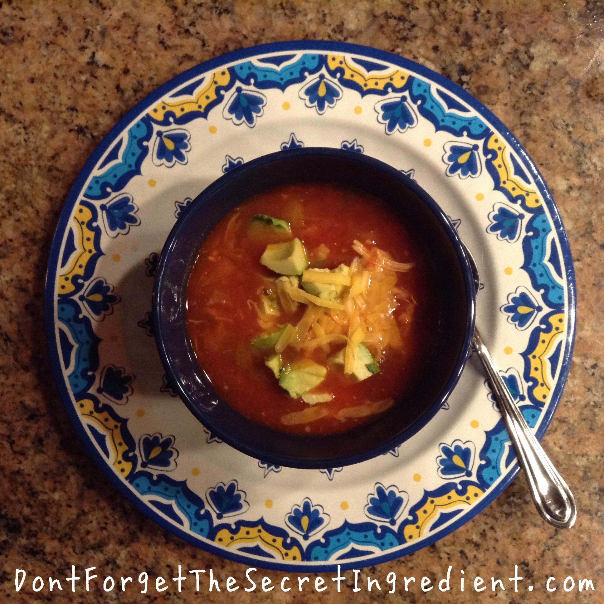 Ina's Chicken Tortilla Soup
