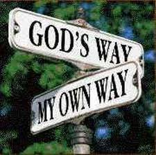God's Way My Way