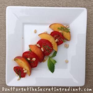 Nectarine and Tomato Salad