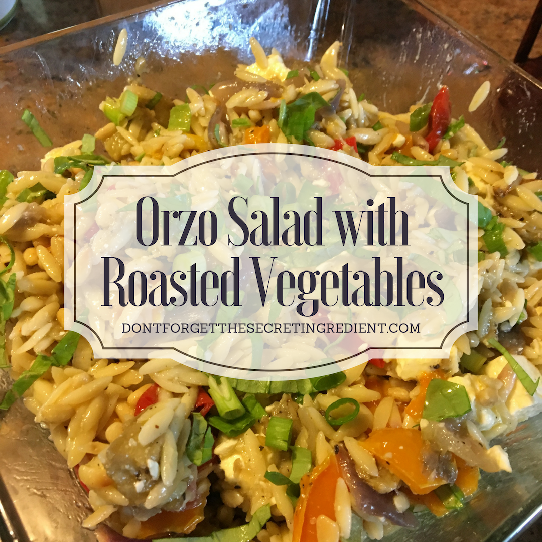 Orzo Salad with Roasted Vegtables